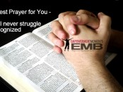 My Earnest Prayer for You