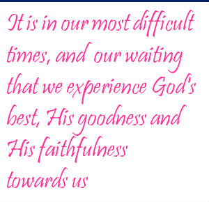 quote on God's timing