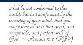 Romans 12v2