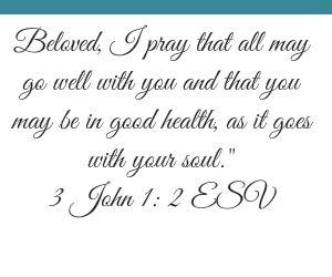 3 John 1 v 2