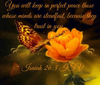 Isaiah 26 - 3