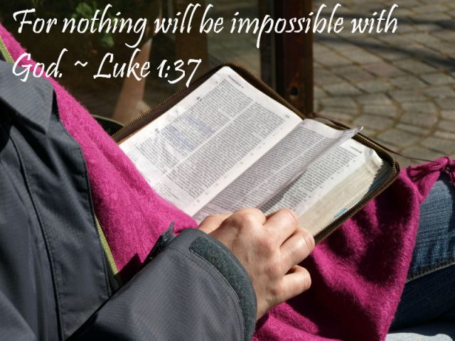 15 Verses On What The Bible Says About All Things Are Possible