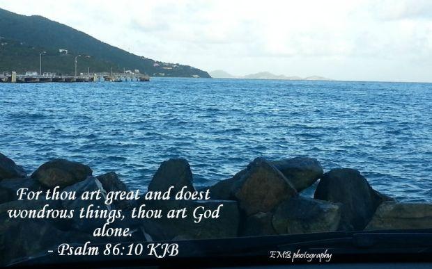 Psalm 86 v 10
