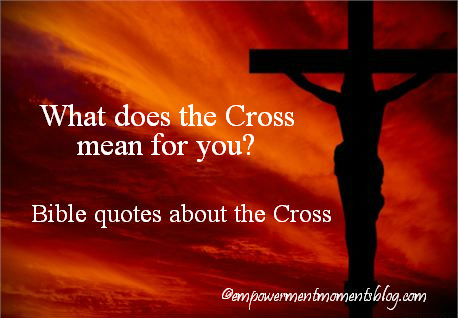 bible quotes about the cross