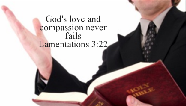 God's love and compassion never fails