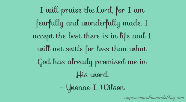 quote by Yvonne Wilson