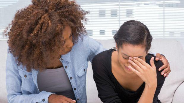 Woman feeling weak and vulnerable (photo: shutterstock.com)