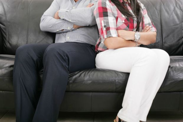 Couple having trouble in their relationships following act of infidelity