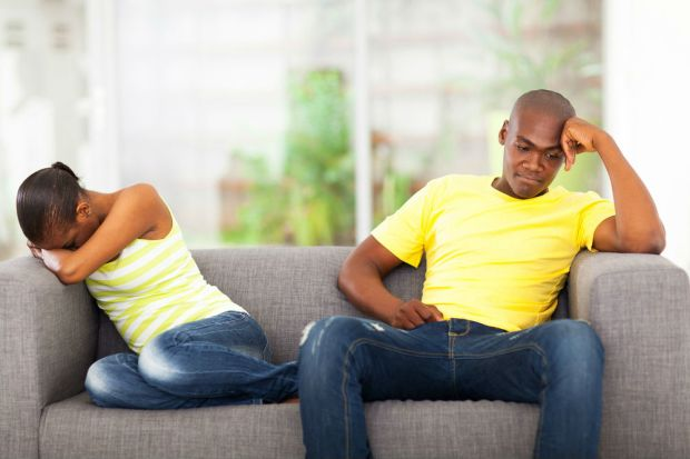 couple having conflict in their marriage