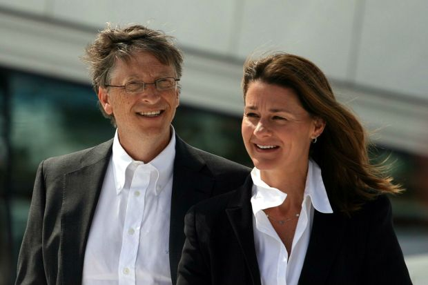 Bill and Melinda Gates in 2009 (photo via Wikipedia)