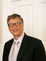 Bill Gates (photo credit Wikipedia)