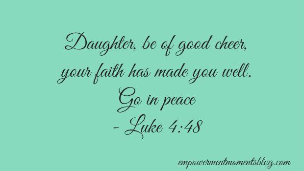 Luke 4 verse 48