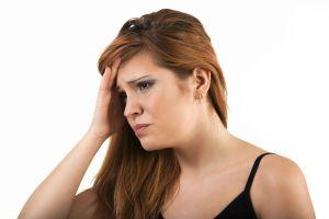 woman worried