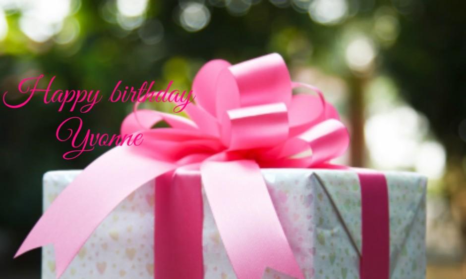 happy birthday yvonne