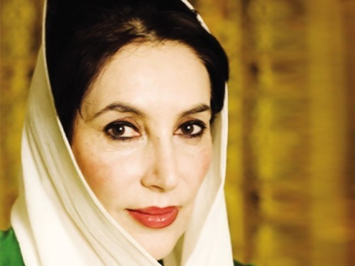 Benazir Bhutto (photo via:
