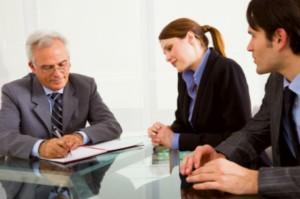 leaders having business meeting