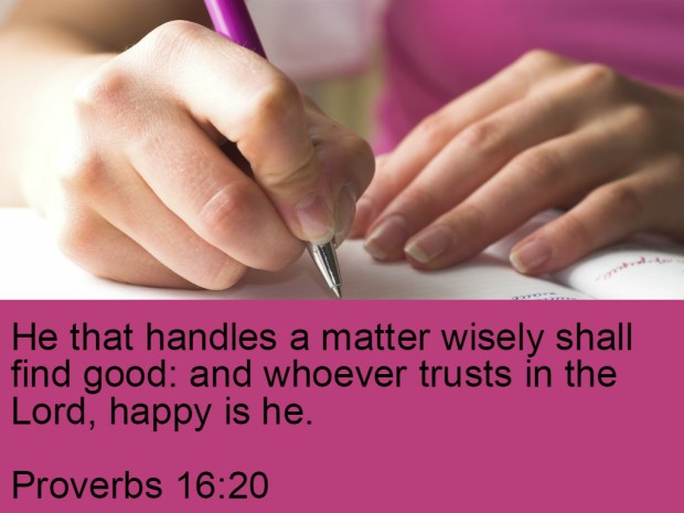 13 Simple Happiness Mantras To Ease Your Mind - Proverbs 16v20
