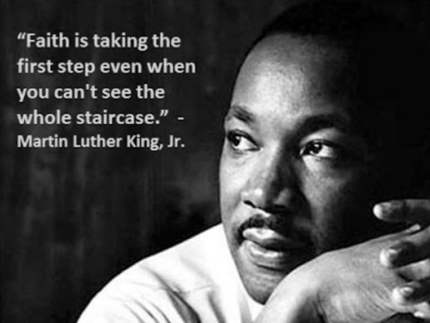 Martin Luther King Jr - faith quote