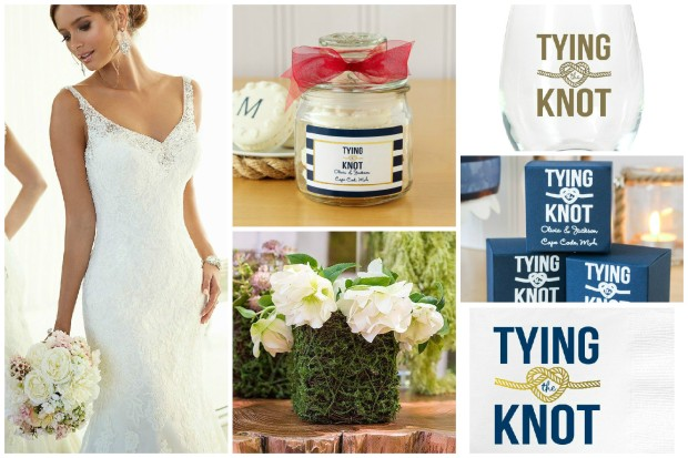 Knot-ical wedding theme