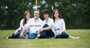 Jaco Alberts and family