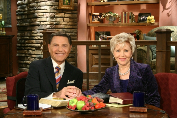 Kenneth and Gloria Copeland hosting Believer's Voice of Victory 2011
