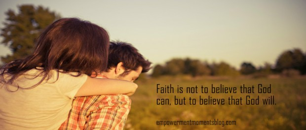 Do You Want To Live By Faith