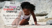 The Power of Gratitude 7 Day Challenge Day 2