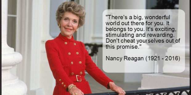 24-Quotes From Nancy Reagan to Honor Her Legacy
