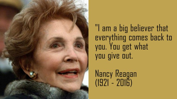 24 Quotes From Nancy Reagan To Honor Her Legacy Kingdom