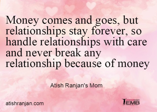 Quote by Atish Ranjan's Mom