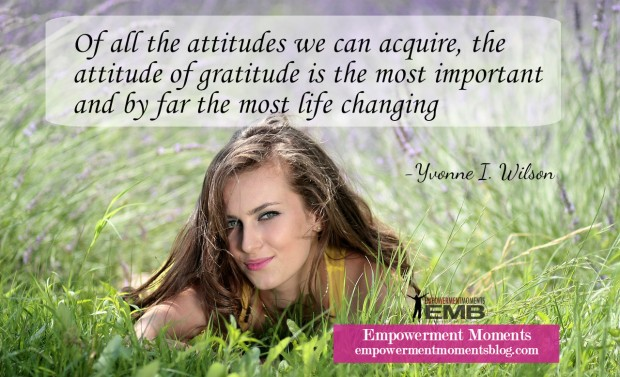 Awesome Facts About Gratitude - Empowerment Moments Blog