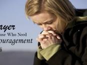 prayer for Encouragement