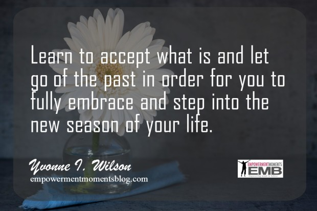 quote by Yvonne on acceptance