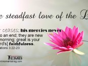 Love Of The Lord Never Ceases